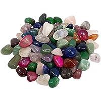 Piedras preciosas piedras de carga en Mix 0,5kg Medium 2–3cm 50–70piedras