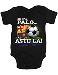 Body bebé de tal palo tal astilla Força Barça FC Barcelona