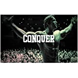 Arnold Poster | Motivational Poster | Inspirational Poster | Quotes Poster | Gym Poster | Poster For Room