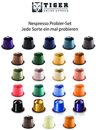 Nespresso Probier-Set von jeder Sorte eine Kapsel zum Probieren