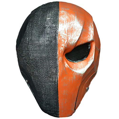 QQWE Death Knell Mask Helme Söldner Cosplay Halloween Weihnachtsmaske Requisiten Terminator Film Arkham Mask,A-OneSize
