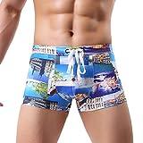 OGGI-Pantaloncini Costume da Bagno Sexy Pantaloni da Spiaggia Shorts da Uomo Sportivo Pantaloncini Estate Asciugatura Veloce Surfing da Boxer Camuffamento Stampato Boxer Shorts Casuali Pantaloncini