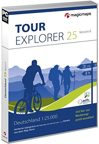 Tour Explorer 25 - Set Deutschland Nord 8.0