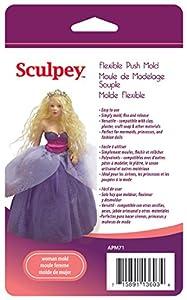 Sculpey APM-71 - Molde Flexible Adecuado para álbumes de Recortes