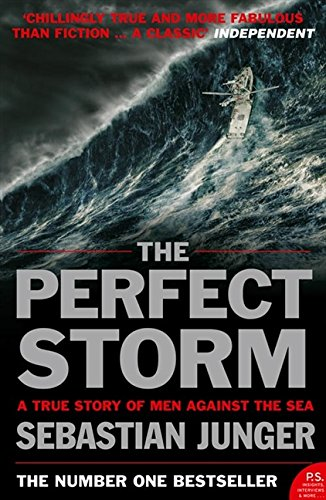 the perfect storm by sebastian junger essay The perfect storm in october of 1991, some 200 miles off the coast of gloucester, massachusetts, a collision of three monstrous storms left a sword fishing boat, the andrea gail, stranded in the high seas.