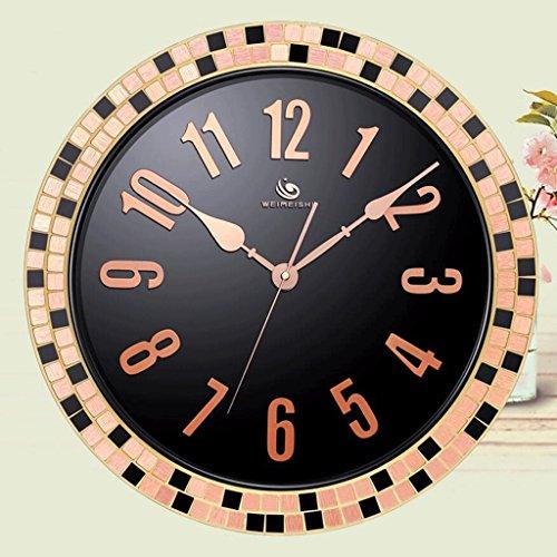 RXL-Zeit der Wand Wohnzimmer Büro Stumm Uhr große hängende Tabelle einfache kreative Quarzuhr