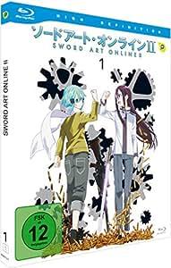 Sword Art Online - 2.Staffel - Vol. 1 [Blu-ray] [Import allemand]