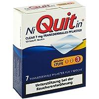 NIQUITIN CLEAR 7MG, 7 St preisvergleich bei billige-tabletten.eu