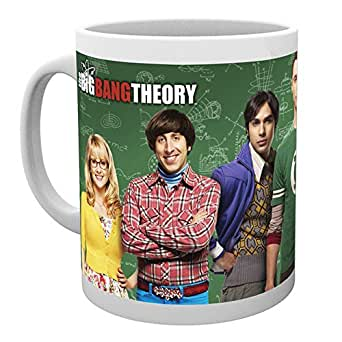 "GB eye ""The Big Bang Theory Cast"" Mug, Various"
