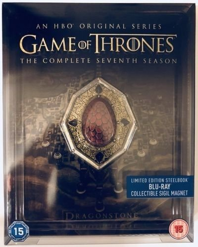 Game Of Thrones: The Complete Seventh Season (Includes Conquest & Rebellion) [Blu-ray Steelbook] [2017] [Region Free]