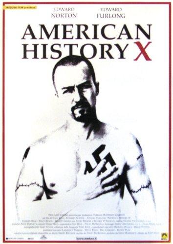 american-history-x-poster-affiche-70cm-x-100cm-2-tringles-noires-avec-suspension