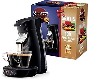 Philips Senseo Viva Cafe HD6561/67 Nr. 1 Kaffepadmaschine mit 100 Pads in der...