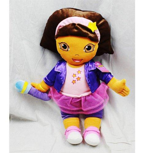 Kissen–Dora the Explorer–Lila Rock Cuddle Soft Plüsch Kissen New ded10035