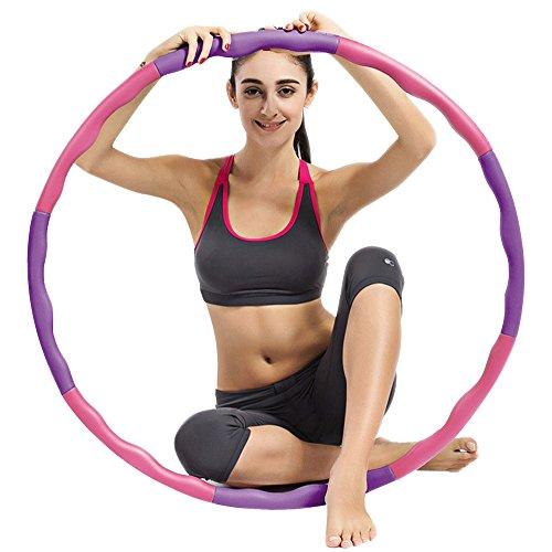 ubegood-cerceau-hula-hoop-avec-renfort-mousse-niveau-1-hula-hoop-dexercice-a-sport-et-fitness-12-kg-