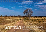 Sambia - ein großartiges Land (Tischkalender 2018 DIN A5 quer): Sambia ist ein großartiges, touristisch noch wenig erschlossenes, Land mit ... (Monatskalender, 14 Seiten ) (CALVENDO Orte) - CALVENDO