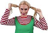 Freche Göre Kostüm Rot, Weiß & Grün...