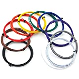 ELECTRONICS-SALON 10colores UL-100722AWG cables Kit, 10x 2metros