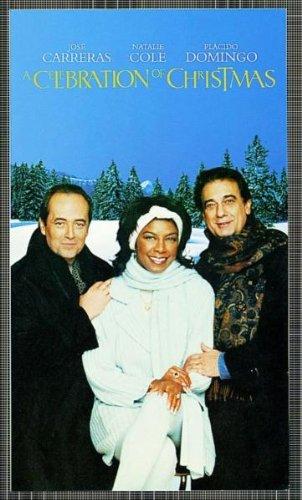 José Carreras/Natalie Cole/Plácido Domingo - A Celebration of Christmas [VHS]