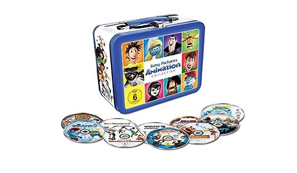 Animation 10 Filme Collection - Exklusiv geprägte Kids Lunchbox mit ...