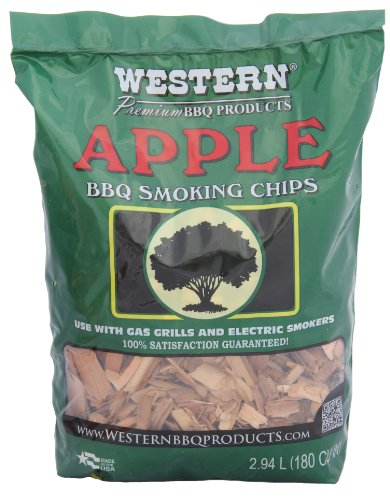 W W Wood Smoking Chips - Apple (Duft-chips)