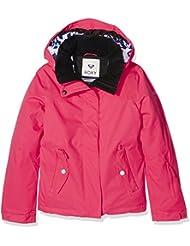 Roxy Jetty Solid–Chaqueta de esquí para niña Paradise Pink Fr: 8ans (talla fabricante: 8/S)