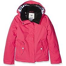 Roxy Jetty Solid–Chaqueta de esquí para niña Paradise Pink Fr: 14ans (talla fabricante: 14/XL)