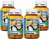 Alcalinizzante Magnesio Calcio dieta alcalina   Energia Vitalità Balance PH Integratore   4 Box da 100 compresse   Preparato alcalino per la regolazione degli acidi nel corpo     metabolismo   ossa
