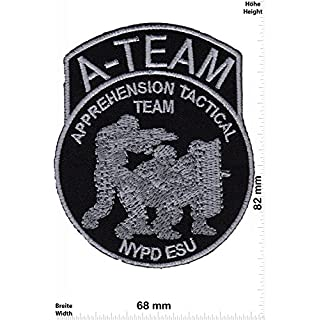 Patch - Police - A-Team - Apprehension Tactical Team - NYPD ESU - New York - USA Police - US - Police Patch - Polizei - SWAT - Patches - Aufnäher Embleme Bügelbild Aufbügler