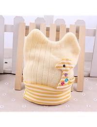Bonnets Girafe 100% coton, Naissance à 6 mois