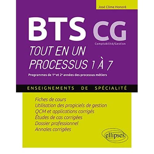 BTS CG Comptabilité/Gestion Tout en un Processus 1 à 7