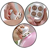 Flawless Painless Rechargeable Electronic Cordless Wet and Dry Hair Remover Shaver for Women