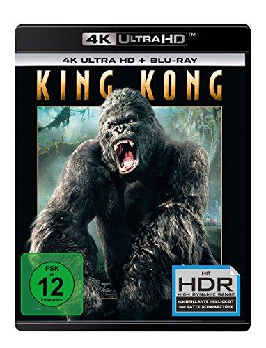 King Kong (2005) - Ultra HD Blu-ray [4k + Blu-ray Disc]