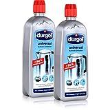 Durgol Universal Schnell-Entkalker 750ml - hochwirksam, schonend, lebensmittelsicher - Befreit alle Gegenstände im Haushalt schnell und einfach von Kalk (2er Pack)