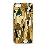 Étui pour téléphone iPhone 5/5S Art abstrait cf4722