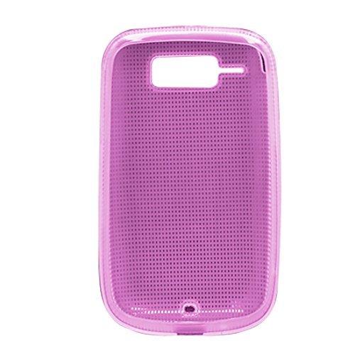 Roze zachte plastic behuizing Back Cover voor HTC T4242 Cruise