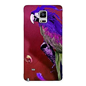 Enticing Magic Parrot Multicolor Back Case Cover for Galaxy Note 4