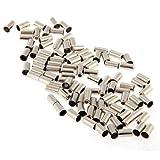 50pcs 5mm Endhülsen Endkappen Hülsen Bremszug Kabelendhülsen für Bremsseil Schaltseil