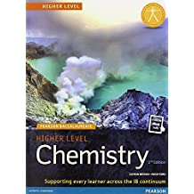 Pearson Baccalaureate Chemistry Higher Level 2nd Edition Print and Online Edition for the IB Diploma (Pearson International Baccalaureate Diploma: International E)