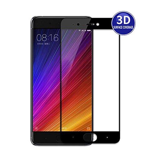 X-Dision Xiaomi Redmi Note 4X (Schwarz) 3D Schutzfolie Vollbildschutz Premium HD-Komplettabdeckung 9H Härten von Glasschutz Anti-Fingerabdruck & Anti-Shatter