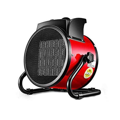 XUERUI Eléctrico Calentador Ventilador Inclinación Redondo Espacio Más Cálido Inoxidable Acero IP44...