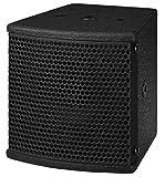 MONACOR PAB-303/SW Miniatur-PA-Lautsprecherbox (30 Watt, 8 Ohm) schwarz