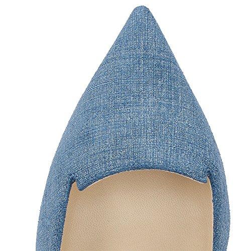 Guoar - Scarpe chiuse Donna Blu (Denim)