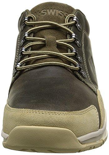 K-Swiss Herren Eaton P Cmf Sneakers Grün (Dark Olive/Khaki)