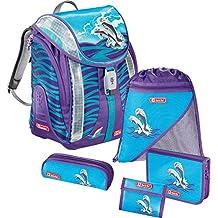 Step by Step Flexline Schulranzen-Set 5-tlg. Happy Dolphins happy dolphins