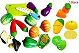 ToyTree Realistic Sliceable Vegetables C...