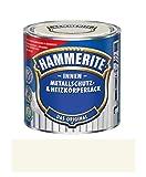 500 ml Hammerite Metallschutz & Heizkörperlack Innen Cremeweiss RAL 9001, Glanz