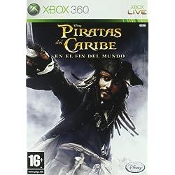 Videojuego de Piratas del Caribe 3, para XBOX 360.