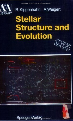 Stellar Structure and Evolution (Astronomy and Astrophysics Library) 3 STG Edition by Kippenhahn, Rudolf, Weigert, Alfred published by Springer (1996)