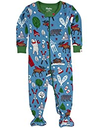 Hatley Footed Coverall-Boys Vintage Ski, Polaina para Bebés