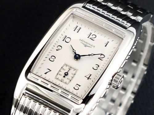 Reloj Longines Mujer l25014736al cuarzo (batería) acero quandrante Plata Correa Acero